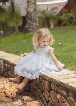 Girl Tulle Dots 3001