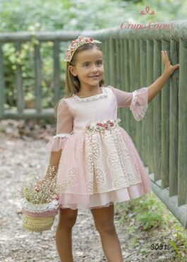 Girl Tulle Dress 3031