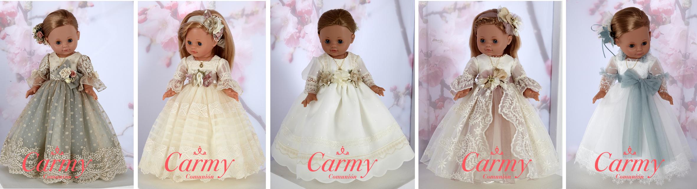 Muñeca de Comunión Carmy